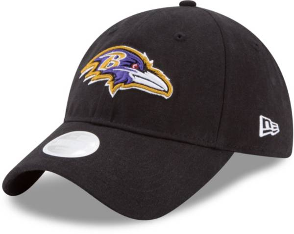 New Era Women's Baltimore Ravens Black Glisten 9Twenty Adjustable Hat product image