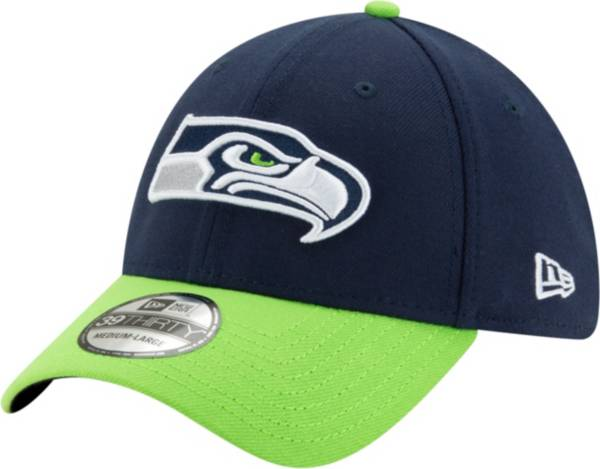 New Era Men's Seattle Seahawks 39Thirty Navy Stretch Fit Hat product image