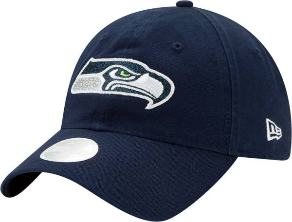 New Era Women's Seattle Seahawks Navy Glisten 9Twenty Adjustable Hat product image