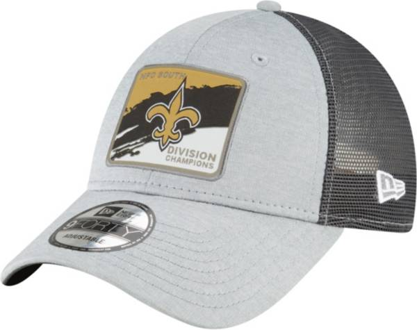 New Era Men's New Orleans Saints NFC South Division Champions 9Forty Grey Adjustable Hat product image