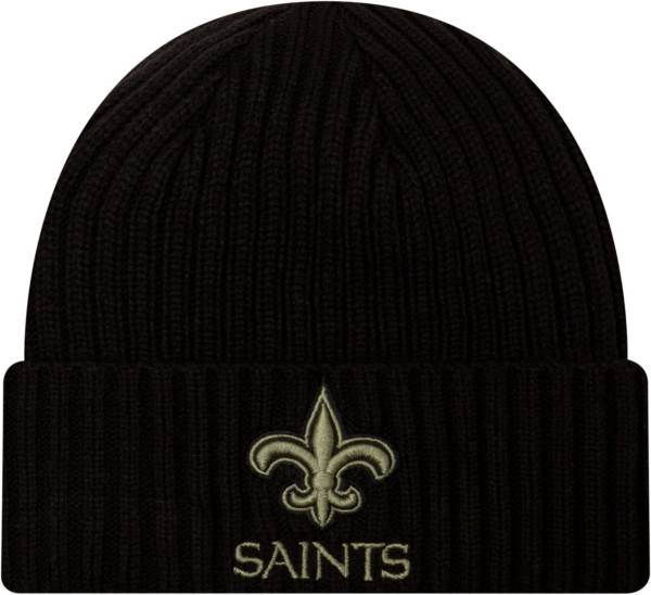 New Era Men's Salute to Service New Orleans Saints Black Knit Hat product image