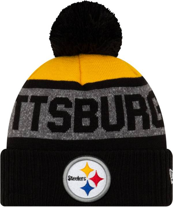 New Era Men's Pittsburgh Steelers Pom Knit product image