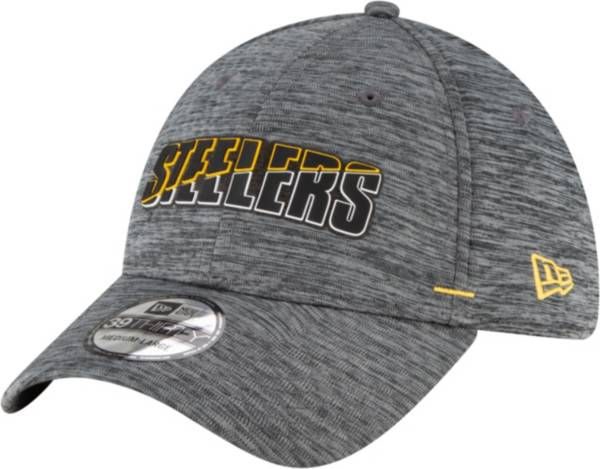 New Era Men's Pittsburgh Steelers Grey Summer Sideline 39Thirty Stretch Fit Hat product image