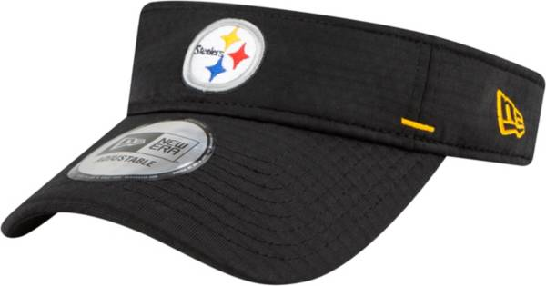 New Era Men's Pittsburgh Steelers Black Summer Sideline Visor product image