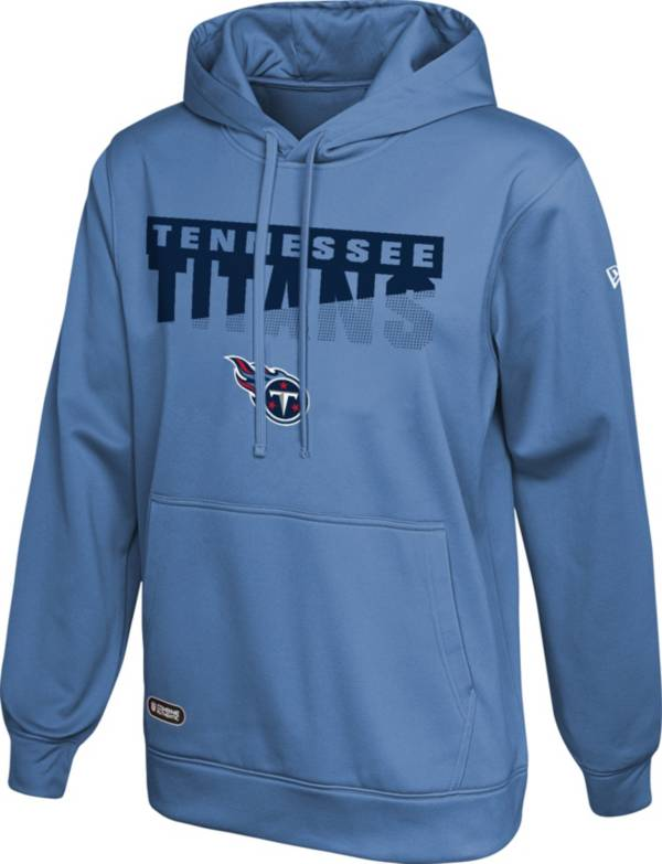 New Era Men's Tennessee Titans Combine Blue Pullover Hoodie product image
