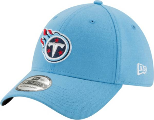 New Era Men's Tennessee Titans Team Classic 39Thirty Light Blue Stretch Fit Hat product image