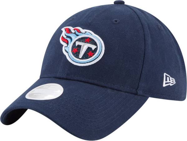 New Era Women's Tennessee Titans Navy Glisten 9Twenty Adjustable Hat product image
