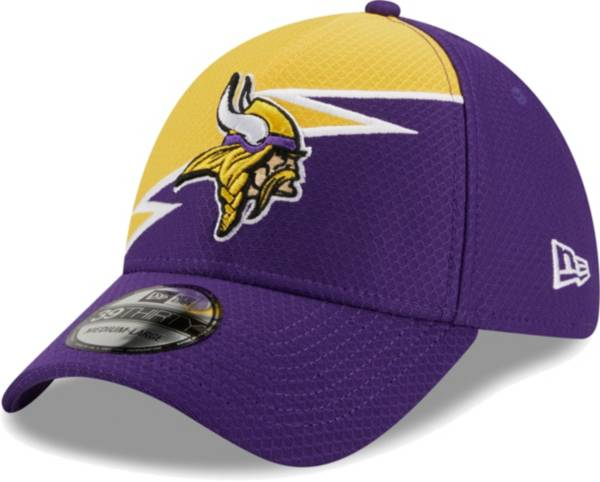 New Era Men's Minnesota Vikings Purple 39Thirty Bolt Fitted Hat product image