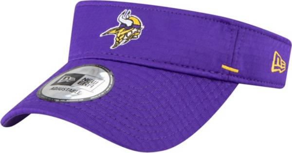 New Era Men's Minnesota Vikings Purple Summer Sideline Visor product image