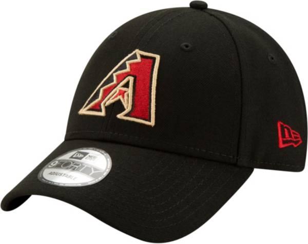 New Era Men's Arizona Diamondbacks Black Core Classic 9Twenty Adjustable Hat product image