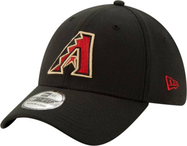 New Era Men's Arizona Diamondbacks Black Classic 39Thirty Stretch Fit Hat product image
