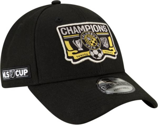 New Era Men's 2020 MLS Cup Champions Columbus Crew Locker Room 9Forty Adjustable Hat product image