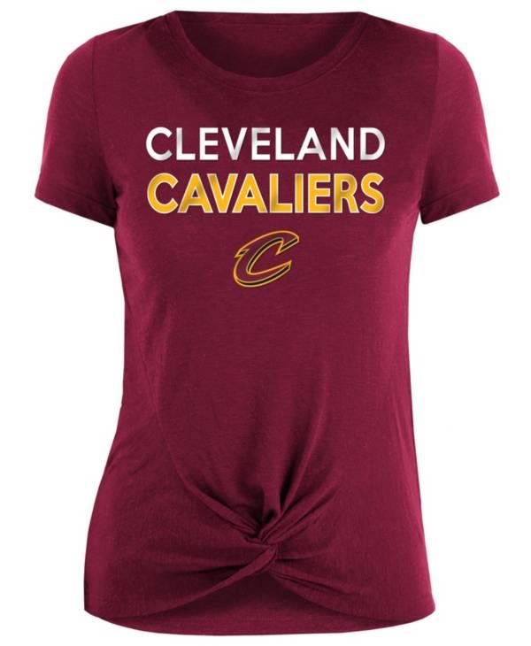 New Era Women's Cleveland Cavaliers Knot T-Shirt product image
