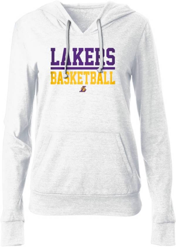 New Era Women's Los Angeles Lakers White Wordmark Hoodie product image