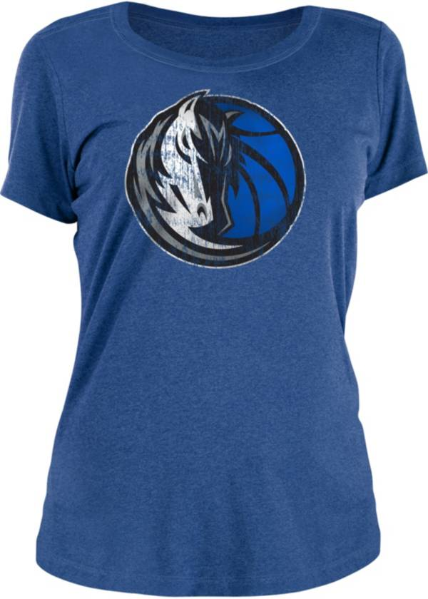 New Era Women's Dallas Mavericks Blue Logo T-Shirt product image