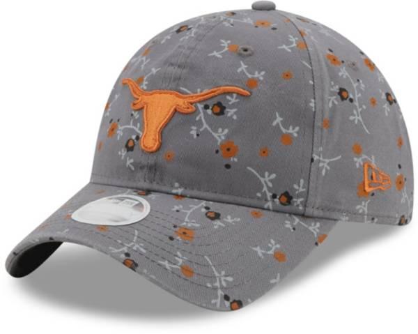 New Era Women's Texas Longhorns Grey Blossom Adjustable Hat product image