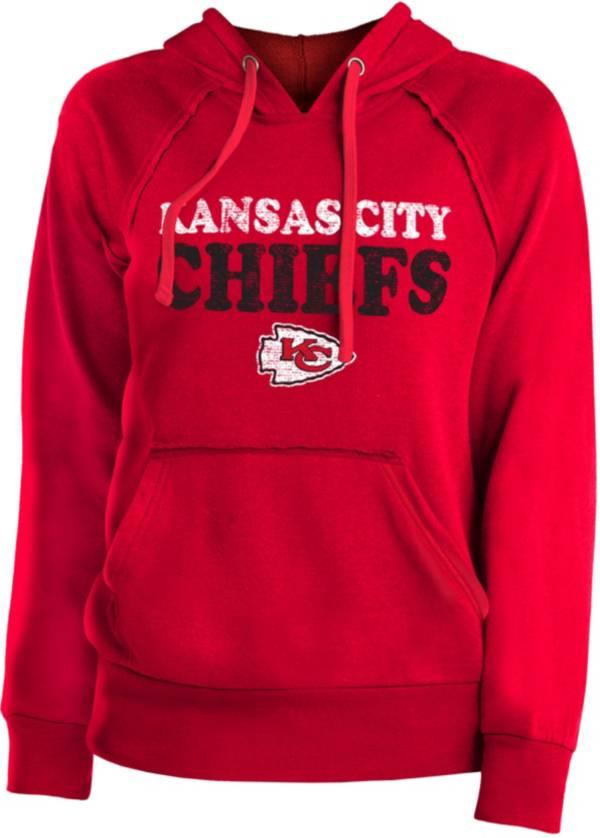 New Era Women's Kansas City Chiefs Block Name Red Hoodie product image