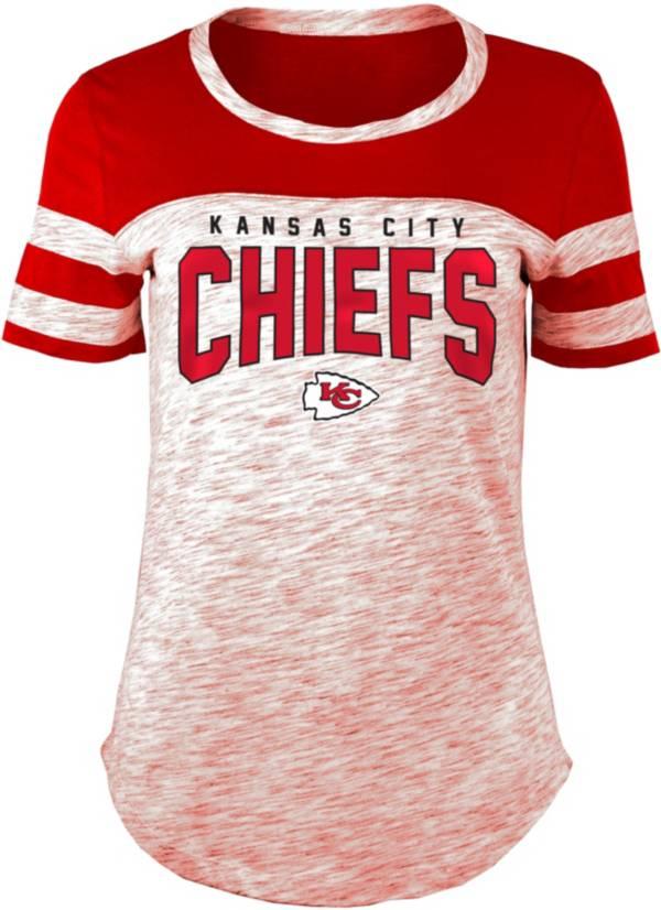 New Era Women's Kansas City Chiefs Varsity Space Dye T-Shirt product image