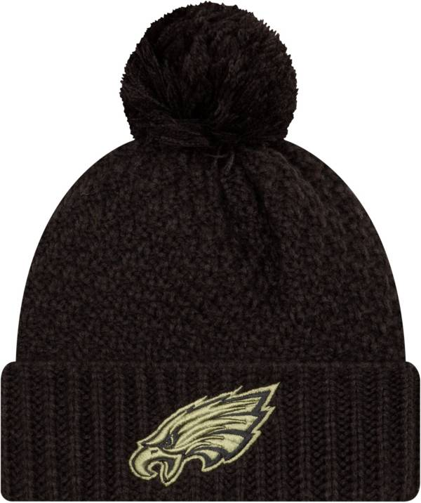 New Era Women's Salute to Service Philadelphia Eagles Black Pom Knit product image