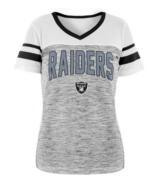 New Era Women's Las Vegas Raiders Varsity Dye Black T-Shirt product image