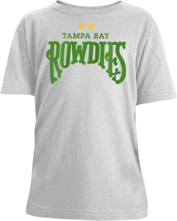 New Era Youth Tampa Bay Rowdies Logo Gray T-Shirt product image