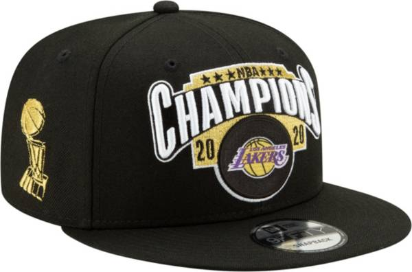 New Era Youth 2020 NBA Champions Los Angeles Lakers Locker Room 9Fifty Adjustable Hat product image