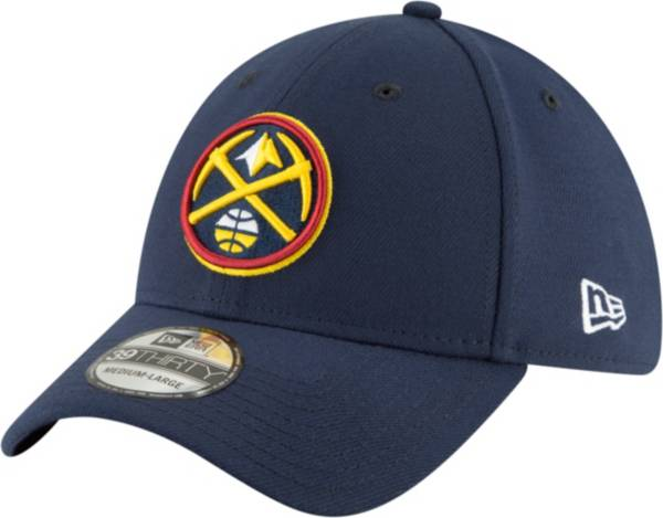 New Era Men's Denver Nuggets Blue 39Thirty Stretch Fit Hat product image