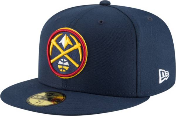 New Era Men's Denver Nuggets 59Fifty Navy Authentic Hat product image