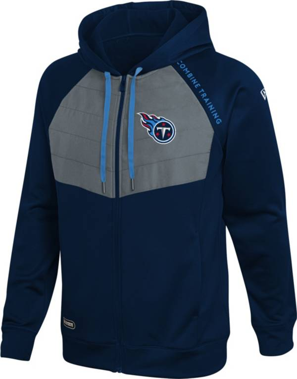 New Era Men's Tennessee Titans Black Long Sleeve Full-Zip Jacket product image
