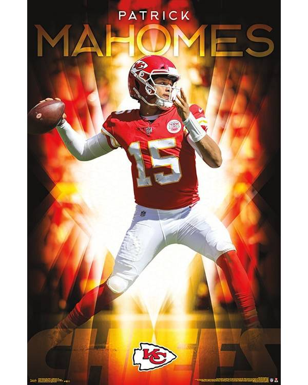 NFL Kansas City Chiefs Patrick Mahomes Poster product image