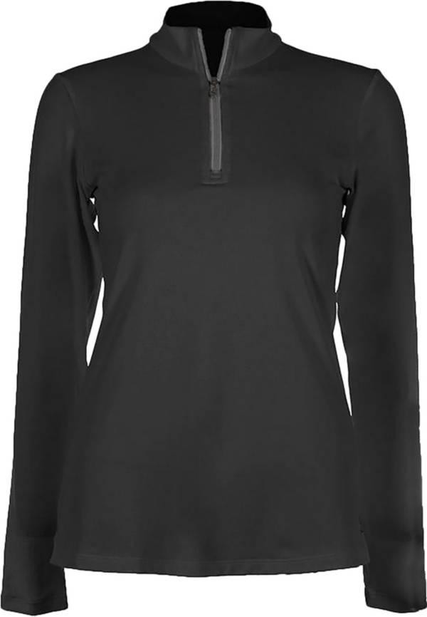 SofiBella Women's Golf Mock Neck Long Sleeve Shirt product image