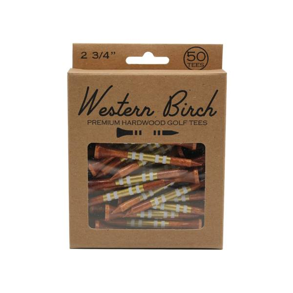 Western Birch 24K Magic Golf Tees- 50 Pack product image