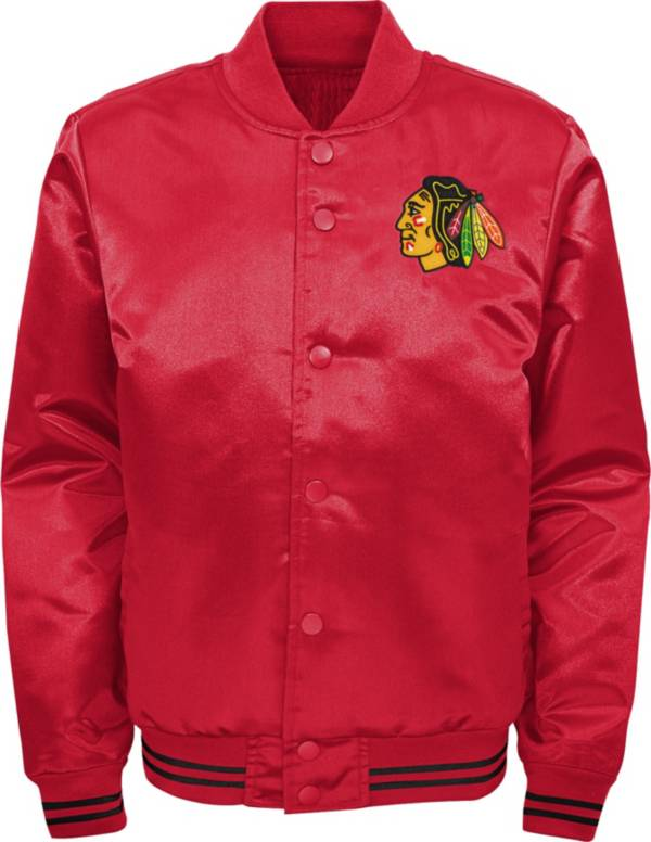 NHL Youth Chicago Blackhawks Gifted Goal Red Button Down Jacket product image