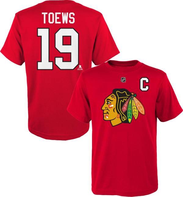 NHL Youth Chicago Blackhawks Jonathan Toews #19 Red T-Shirt product image