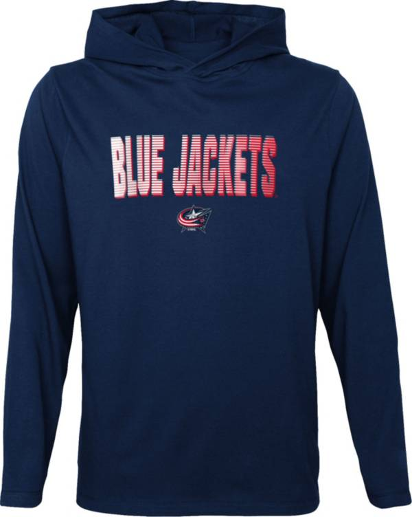 NHL Youth Columbus Blue Jackets Gator Navy Pullover Hoodie product image