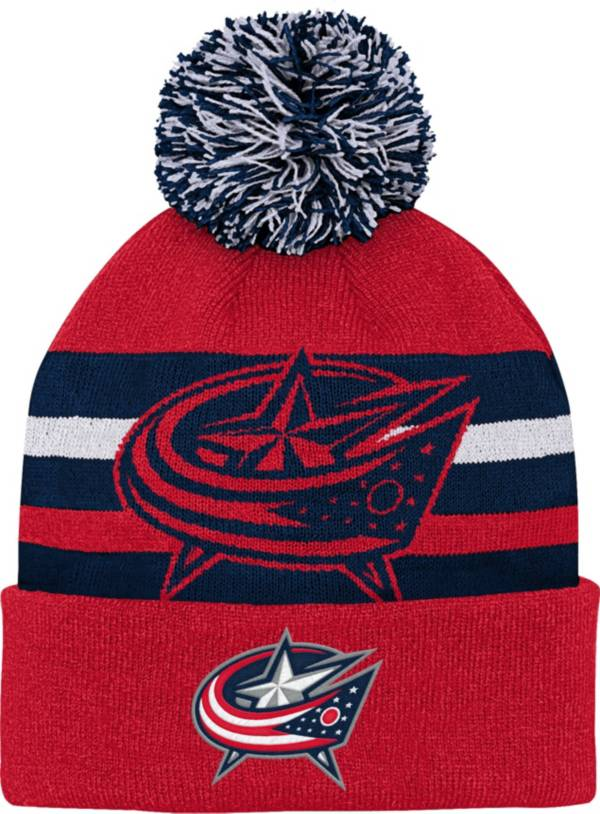 NHL Youth Columbus Blue Jackets Heritage Red Cuffed Knit product image