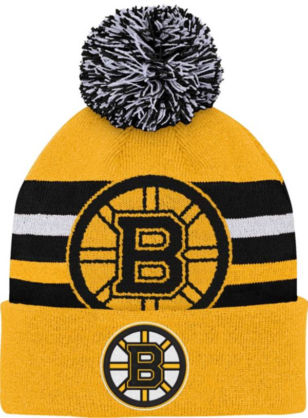 NHL Youth Boston Bruins Heritage Gold Cuffed Knit product image