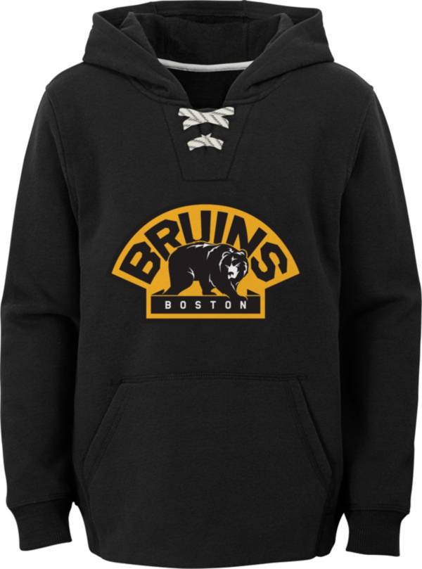 NHL Youth Boston Bruins Shoulder Patch Black Hoodie product image