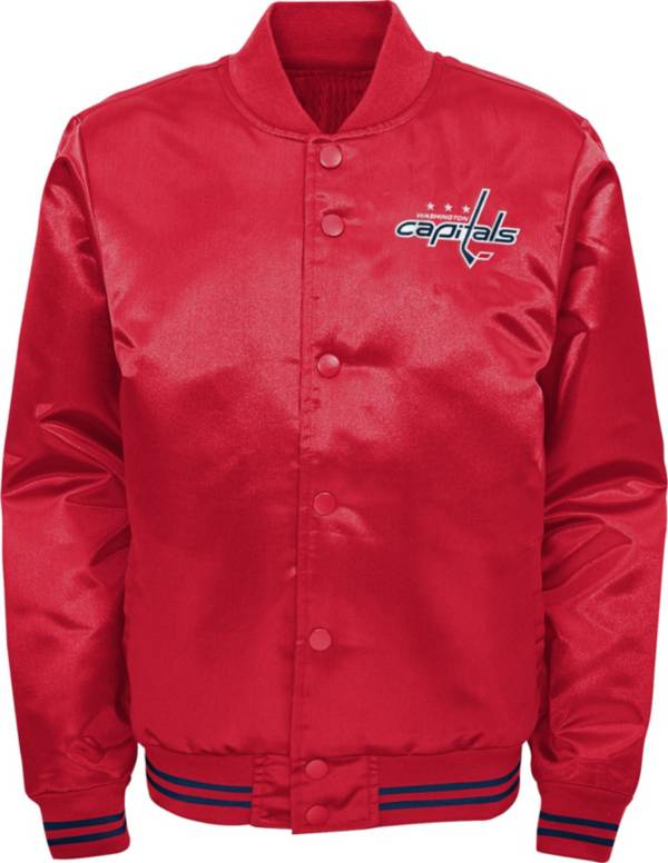 NHL Youth Washington Capitals Gifted Goal Red Button Down Jacket product image
