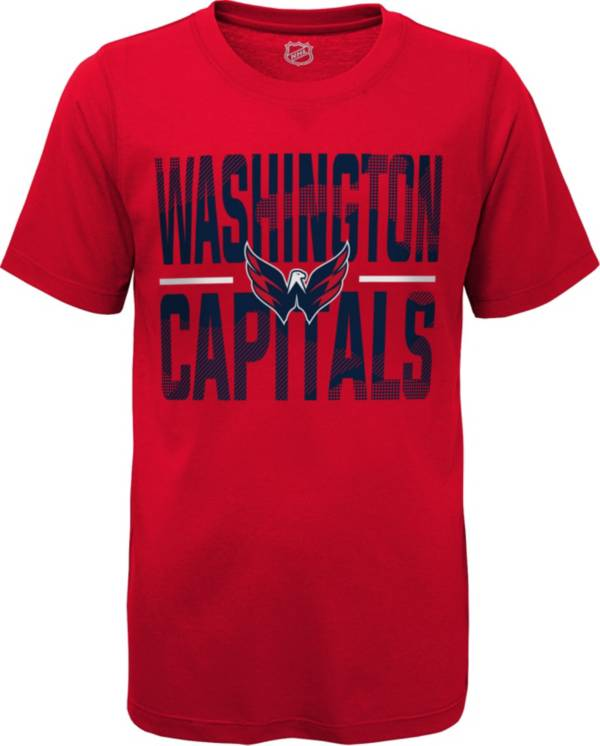 NHL Youth Washington Capitals Hussle Red T-Shirt product image