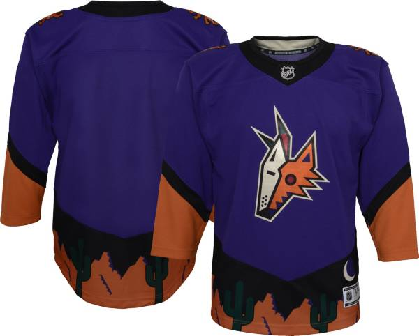 NHL Youth Arizona Coyotes Special Edition Premier Blank Purple Jersey product image