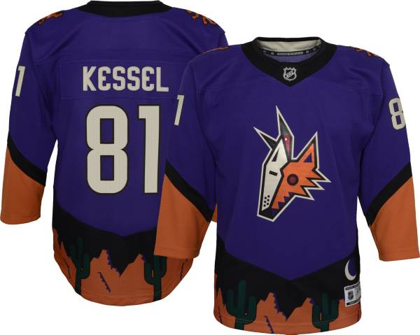 NHL Youth Arizona Coyotes Phil Kessel #81 Special Edition Purple Jersey product image