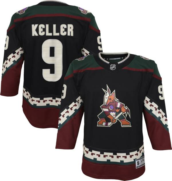 NHL Youth Arizona Coyotes Clayton Keller #9 Red Replica Jersey product image