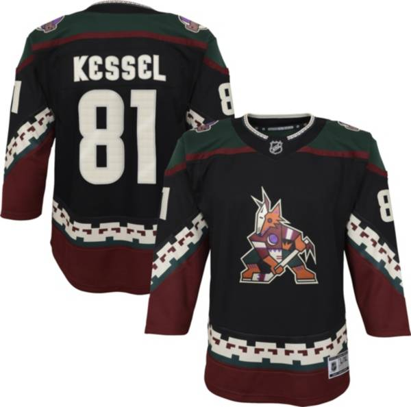 NHL Youth Arizona Coyotes Phil Kessel #81 Red Premier Jersey product image