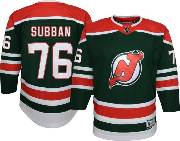 NHL Youth New Jersey Devils P.K. Subban #76 Special Edition Green Jersey product image