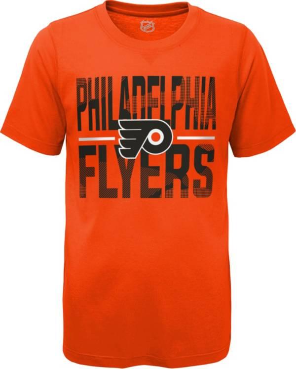 NHL Youth Philadelphia Flyers Hussle Orange T-Shirt product image