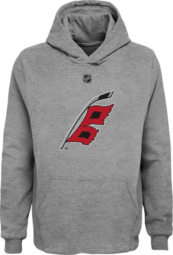 NHL Youth Carolina Hurricanes Grey Shoulder Patch Hoodie product image