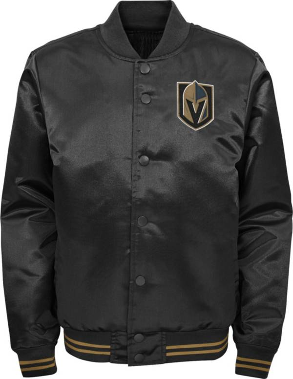 NHL Youth Las Vegas Golden Knights Gifted Goal Black Button Down Jacket product image