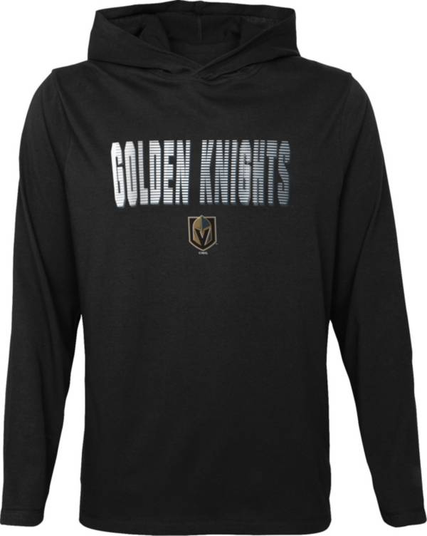 NHL Youth Las Vegas Golden Knights Gator Black Pullover Hoodie product image