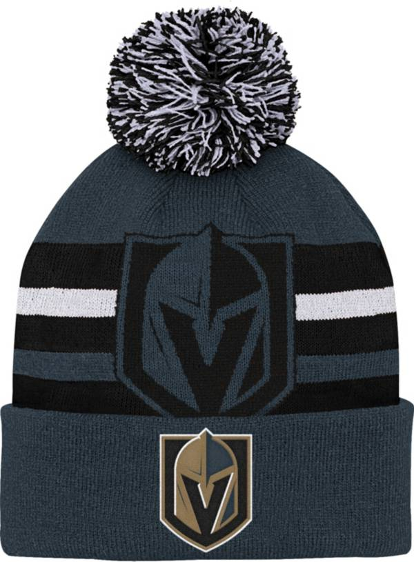 NHL Youth Las Vegas Golden Knights Heritage Grey Cuffed Knit product image